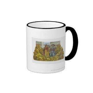 Francisco Pizarro next to Inca Emperor Atahualpa Coffee Mug