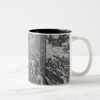 Francisco Pizarro Two-Tone Coffee Mug