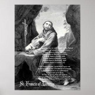 """Francisco, """"señor de O, me hace un instrumento de  Póster"""