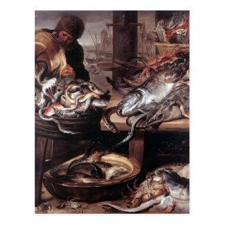 Francisco Snyders- el pescadero Postales