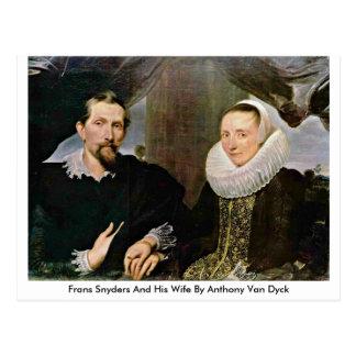 Francisco Snyders y su esposa de Anthony Van Dyck Tarjetas Postales
