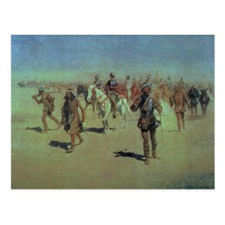Francisco Vasquez de Coronado  Making his Way Postcard
