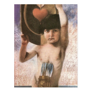Francisco von Stuck - Amor Postales