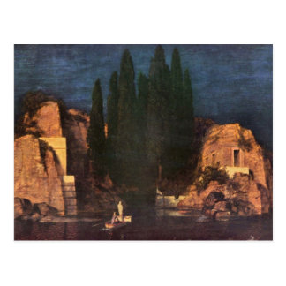 Francisco von Stuck - isla muerta Tarjetas Postales
