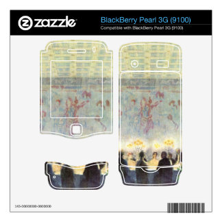 Francisco von Stuck - la cena BlackBerry Pearl 3G Skin