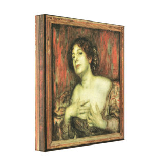 Francisco von Stuck - Maria pegada Impresión En Lona