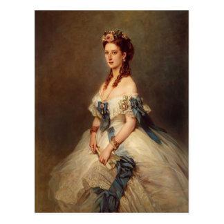 Francisco Winterhalter- Alexandra, Princesa de Gal Postal