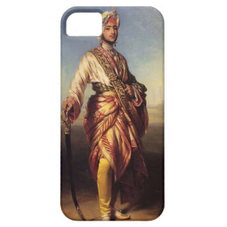 Francisco Xaver Winterhalter- el Maharajá Dalip iPhone 5 Protectores