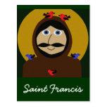Francisco y los pájaros postales