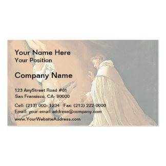 Francisco Zurbaran- Appearance of St. Peter Business Card