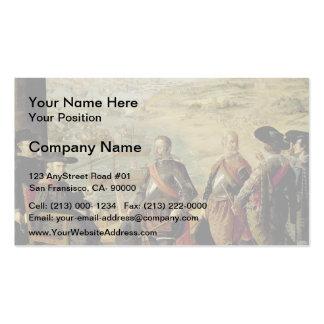 Francisco Zurbaran-Defence of Cadiz Business Cards