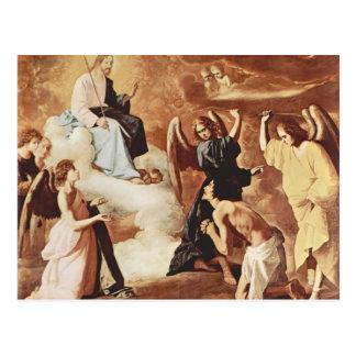 Francisco Zurbaran- Flagellation of St. Jerome Post Card