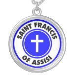 Franciscos de Asís del santo Colgantes