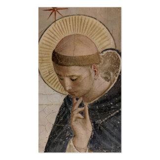 Franciscos de Asís del santo en la reflexión Tarjeta De Visita