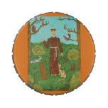 Franciscos de Asís del santo Jarrones De Dulces