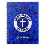 Franciscos de Asís del santo Libreta