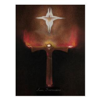 Franciscos de Asís del santo Tarjeta Postal