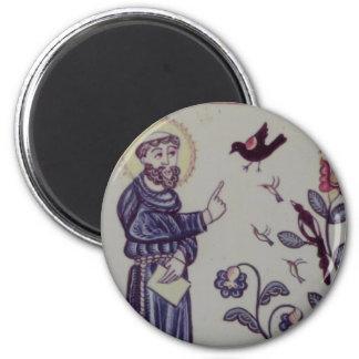 Franciscos de Asís Imán Redondo 5 Cm