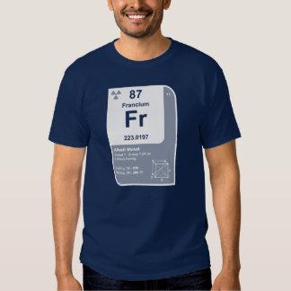 Francium (Fr) Tees