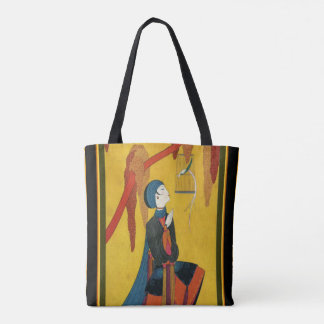 Franck Mackintosh Asian Art Deco Tote