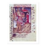 Franco 606 f.11 Ulises que perfora el ojo del Postales
