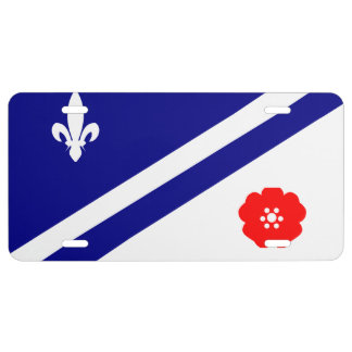 Franco-Alberta License Plate Flag
