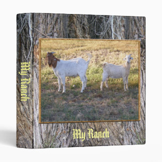 Franco and Friend 3 Ring Binder