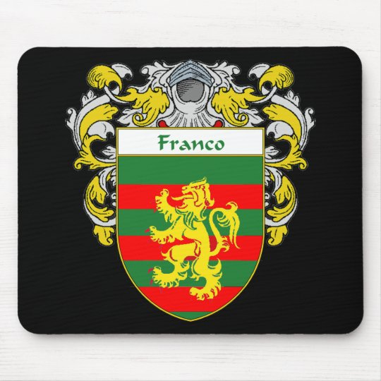 Franco Coat of Arms (Mantled) Mouse Pad