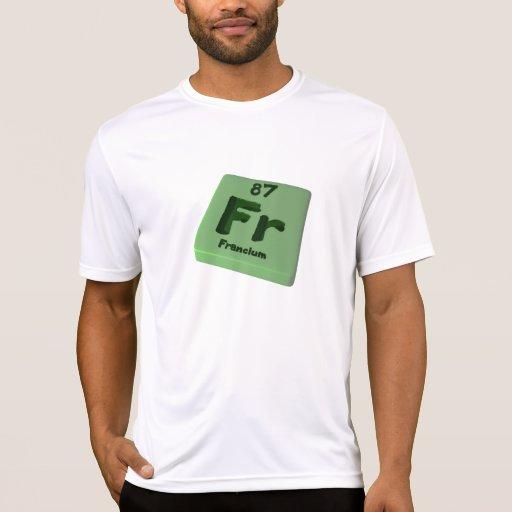 Franco de francio camiseta