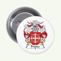 Franco Family Crest Button