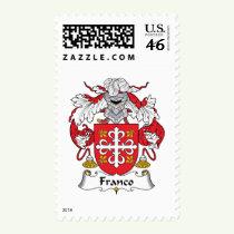 Franco Family Crest Stamps