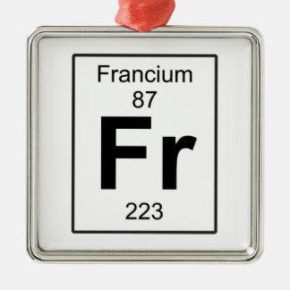 Franco - Francio Adorno Navideño Cuadrado De Metal