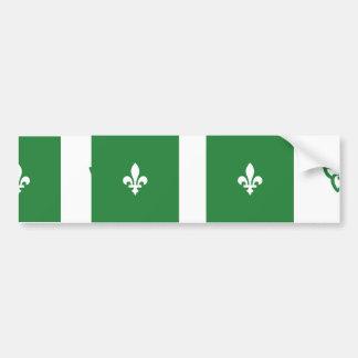 Franco Ontarian, Canada Bumper Sticker