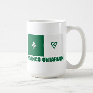 Franco-Ontarian Tazas De Café