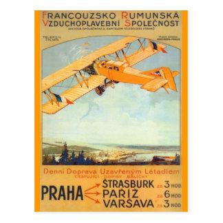 ~ Franco Roumanie de Praga Postal