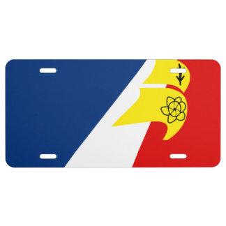 Franco-Terreneuvien License Plate Flag