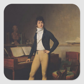 Francois Adrien Boieldieu  1800 Square Stickers