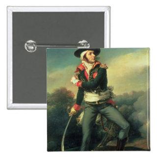Francois Athanese Charette de Contrie 1819 Pin Cuadrado