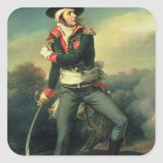 Francois Athanese Charette de Contrie  1819 Square Sticker