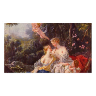 Francois Boucher - Jupiter and Callisto Business Card