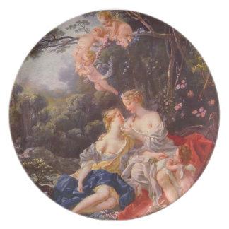 Francois Boucher - Jupiter and Callisto Plate