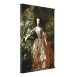 Francois Boucher - Madame de Pompadour Lona Envuelta Para Galerías