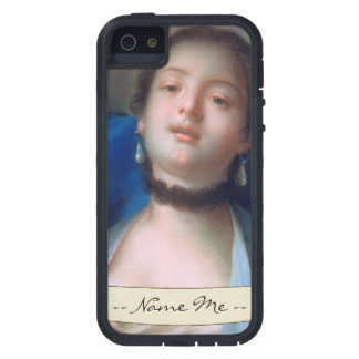 Francois Boucher Portrait of Young Woman lady art iPhone SE/5/5s Case