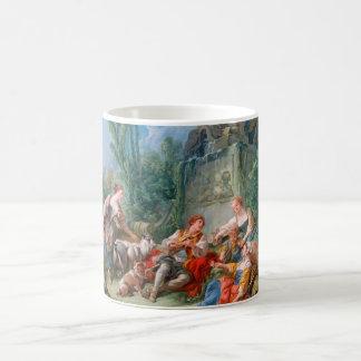francois boucher shepherd's idyll rococo scenery coffee mug