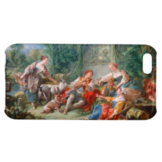 francois boucher shepherd's idyll rococo scenery cover for iPhone 5C
