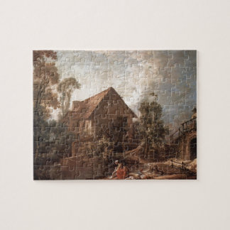 Francois Boucher - The Mill Jigsaw Puzzles