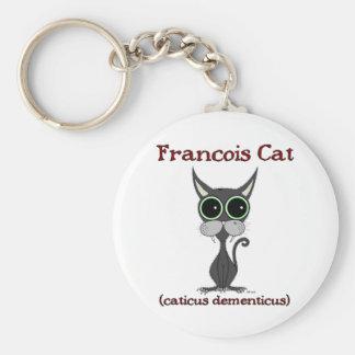 Francois Cat Keychain