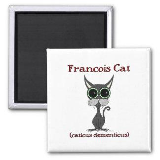 Francois Cat Refrigerator Magnet