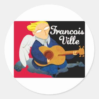 François City Logo (Saline Stedy) Classic Round Sticker