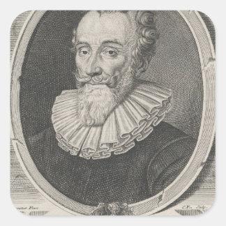 Francois de Malherbe Square Sticker
